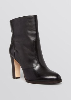 Elie Tahari Pointed Toe Platform Booties - Haines High Heel