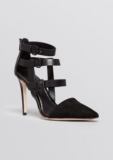 Elie Tahari Pointed Toe Pumps - Andover High Heel