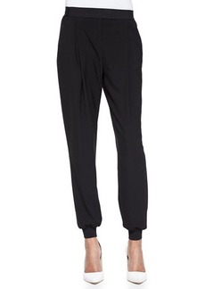 Elie Tahari Presley Pleated Pants