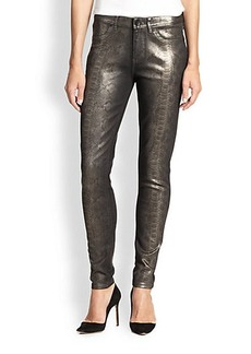 Elie Tahari Printed Azella Jeans