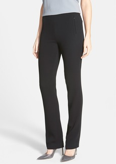 Elie Tahari 'Rae' Zip Pocket Crepe Pants