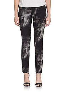Elie Tahari Ramona Straight-Leg Jeans