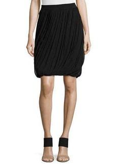 Elie Tahari Remmi Asymmetric-Draped Skirt