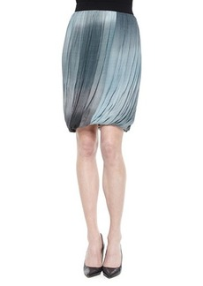 Elie Tahari Remmi Pleated Draped Skirt
