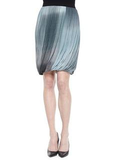 Elie Tahari Remmi Pleated Draped Skirt