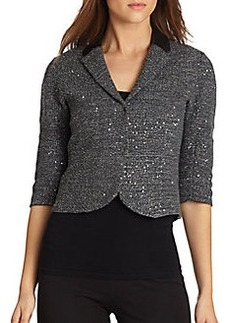 Elie Tahari Reva Sequined Jacket