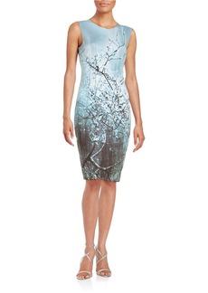 ELIE TAHARI Reversible Sheath Dress