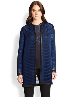 Elie Tahari Reversible Soho Coat
