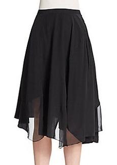 Elie Tahari Sachi Silk Skirt