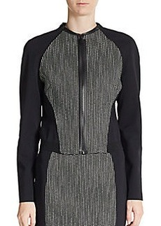 Elie Tahari Sandie Cotton-Blend Jacket