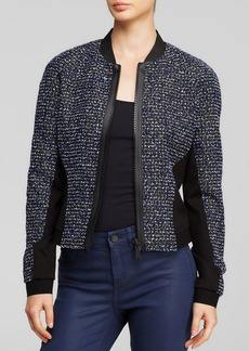 Elie Tahari Sandie Tweed Jacket