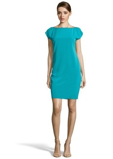 Elie Tahari sea life 'Logan' sleeveless belted dress