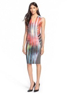 Elie Tahari 'Shannon' Reversible Stretch Jersey Dress