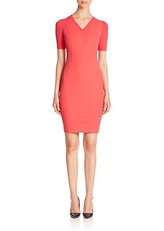 Elie Tahari Shannon Scuba Dress