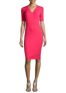Elie Tahari Shannon Short-Sleeve Sheath Dress  Shannon Short-Sleeve Sheath Dress