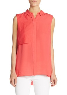 Elie Tahari Shelby Silk Blouse