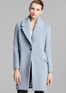Elie Tahari Sicily Single-Button Coat