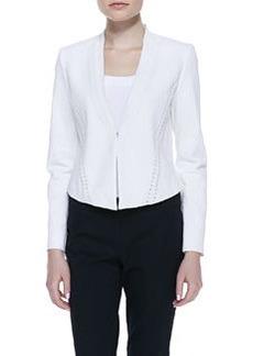 Elie Tahari Sienna Lace-Up Jacket