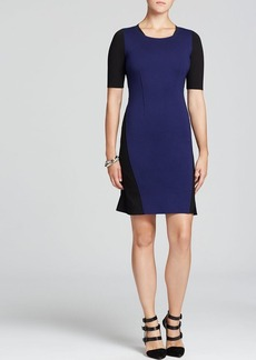 Elie Tahari Sierra Color Block Dress