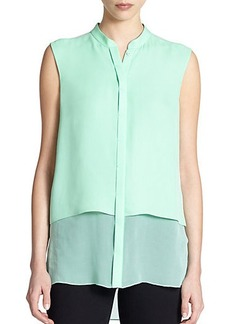 Elie Tahari Silk Eve Blouse