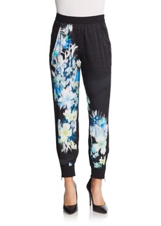 Elie Tahari Silk Kit Pants