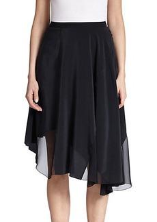 Elie Tahari Silk Sachi Skirt