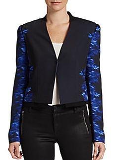 Elie Tahari Sisi Printed Jacket