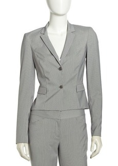 Elie Tahari Skinny Fit Suiting Jacket