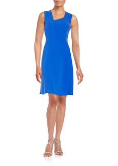 ELIE TAHARI Sleeveless A-Line Dress