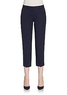 Elie Tahari Sloane Cropped Straight-Leg Pants