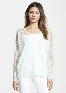 Elie Tahari Sparkling Burnout Sweater