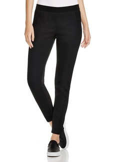Elie Tahari Sport Irene Mesh Panel Leggings