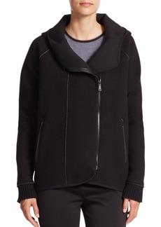 Elie Tahari Sport Margie Hooded Zip-Front Jacket