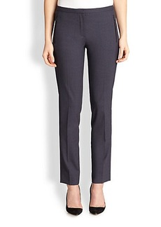 Elie Tahari Stretch Wool Bennet Pants