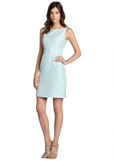 Elie Tahari sweet blue cotton blend 'Holly' sleeveless dress