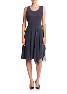 Elie Tahari Tammie Silk Dress