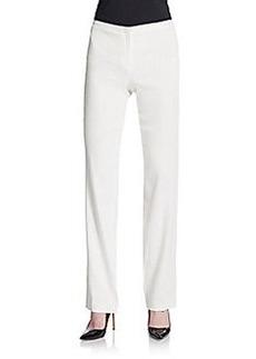 Elie Tahari Theora Linen Blend Trousers