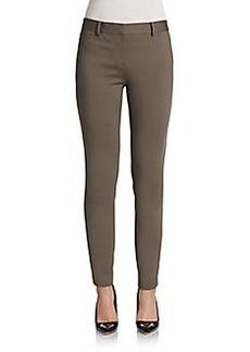 Elie Tahari Verda Ponte Knit Slim Pants