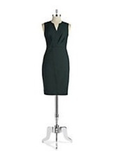 ELIE TAHARI Vernon Sleeveless Dress