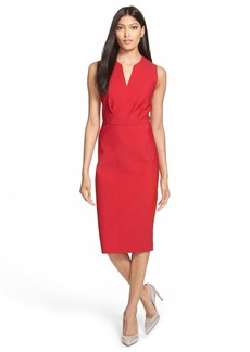 Elie Tahari 'Vernon' Tech Jersey Sheath Dress