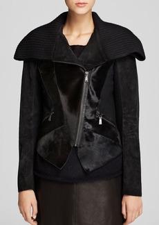 Elie Tahari Viola Calf Hair Jacket - Bloomingdale's Exclusive