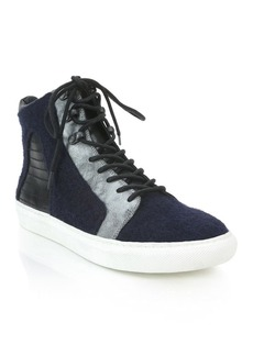 Elie Tahari Vortex High Top Sneakers