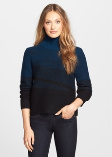 Elie Tahari 'Warner' Ombré Turtleneck Sweater