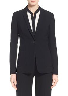 Elie Tahari 'Wendy' One-Button Jacket
