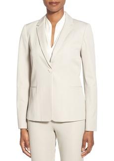 Elie Tahari 'Wendy' One-Button Suit Jacket