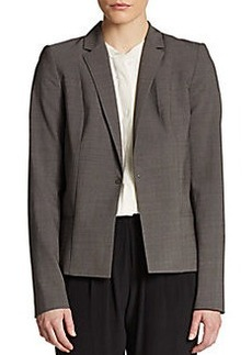 Elie Tahari Wendy Pleated Blazer