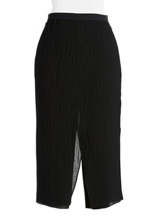 ELIE TAHARI Wide-Leg Cropped Pants