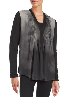 ELIE TAHARI Willow Silk Blouse