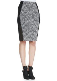 Elie Tahari Willow Tweed Pencil Skirt  Willow Tweed Pencil Skirt