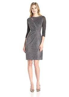 Elie Tahari Women's Agustine Dress, Granite, 12